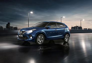 new Baleno media image