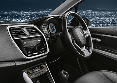 Maruti Suzuki S-Cross Exquisite Interiors